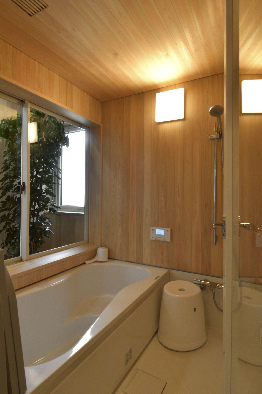 中野市のzehの家写真集 自然素材を使ったオーダーメイドの家 浴室 おしゃれ 浴室 デザイン 浴室 インテリア