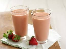 sweet smoothie cold and refreshing