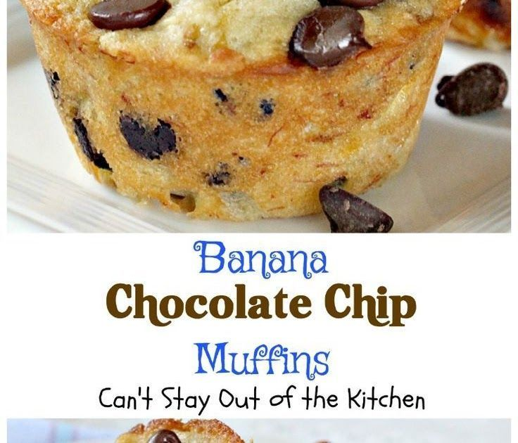 Banana Chocolate Chip Muffins | Cant Stay Out of the Kitchen | One bite of these #muffins will have you drooling! Great for #breakfast or #dessert! #bananas #chocolate #chocolatechips  FULL RECIPE HERE  Part of me was working on a construct it and they will arrive mentality (probably out of self preservation) and portion of me was wondering what the heck I was put-on wrong. Looking back I dont necessarily business I was statute everything wrong I just wasnt fake satisfactory right.  Built it and #frozenbananarecipes