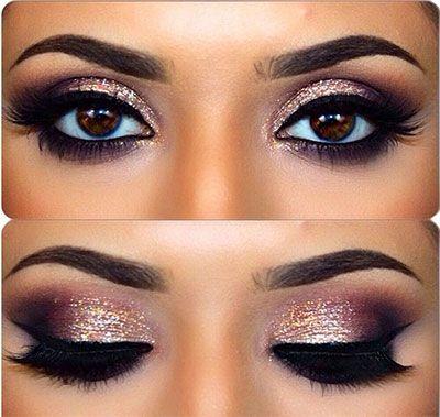 10 Christmas Party Makeup Looks & Ideas 2015   Xmas Makeup ...