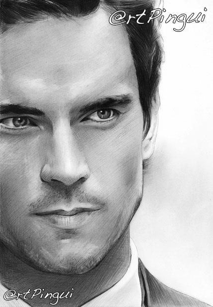 #mattbomer #drawing