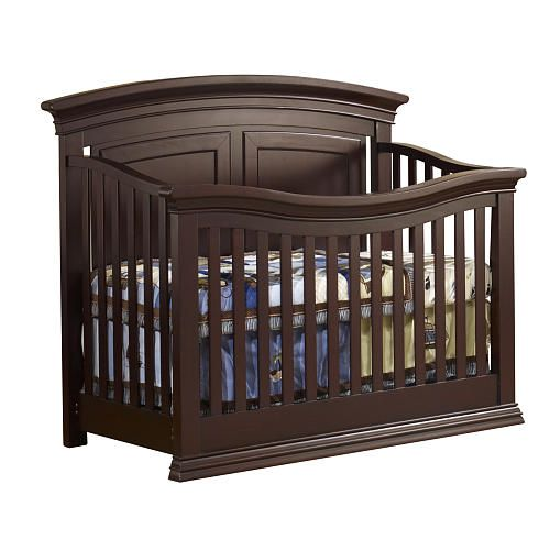 Sorelle Verona Panel Lifetime Crib Espresso Cribs