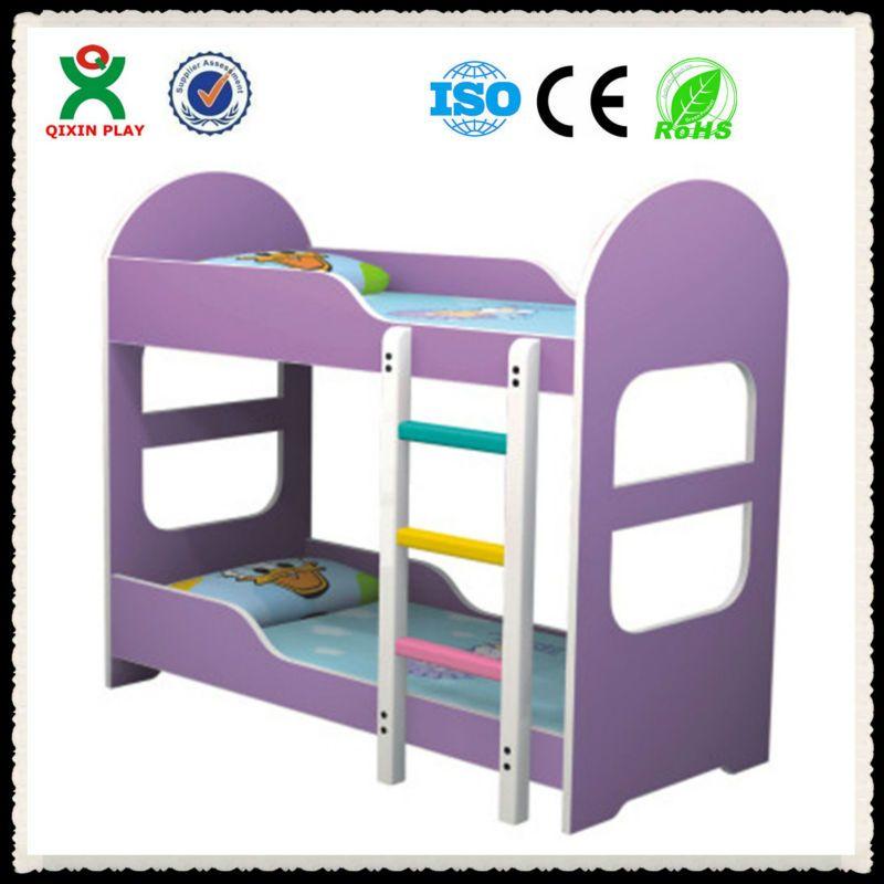 Durable Kids Cartoon Bed For Preschool Kindergarten Wooden Bed