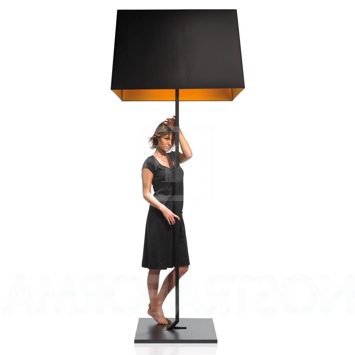 Lighting Black Oversized Floor Lamp With Black Cube Lampshade Design Italian Jumbo Lamps Oversized Floor Lamp Floor Lamp Shades Black Floor Lamp