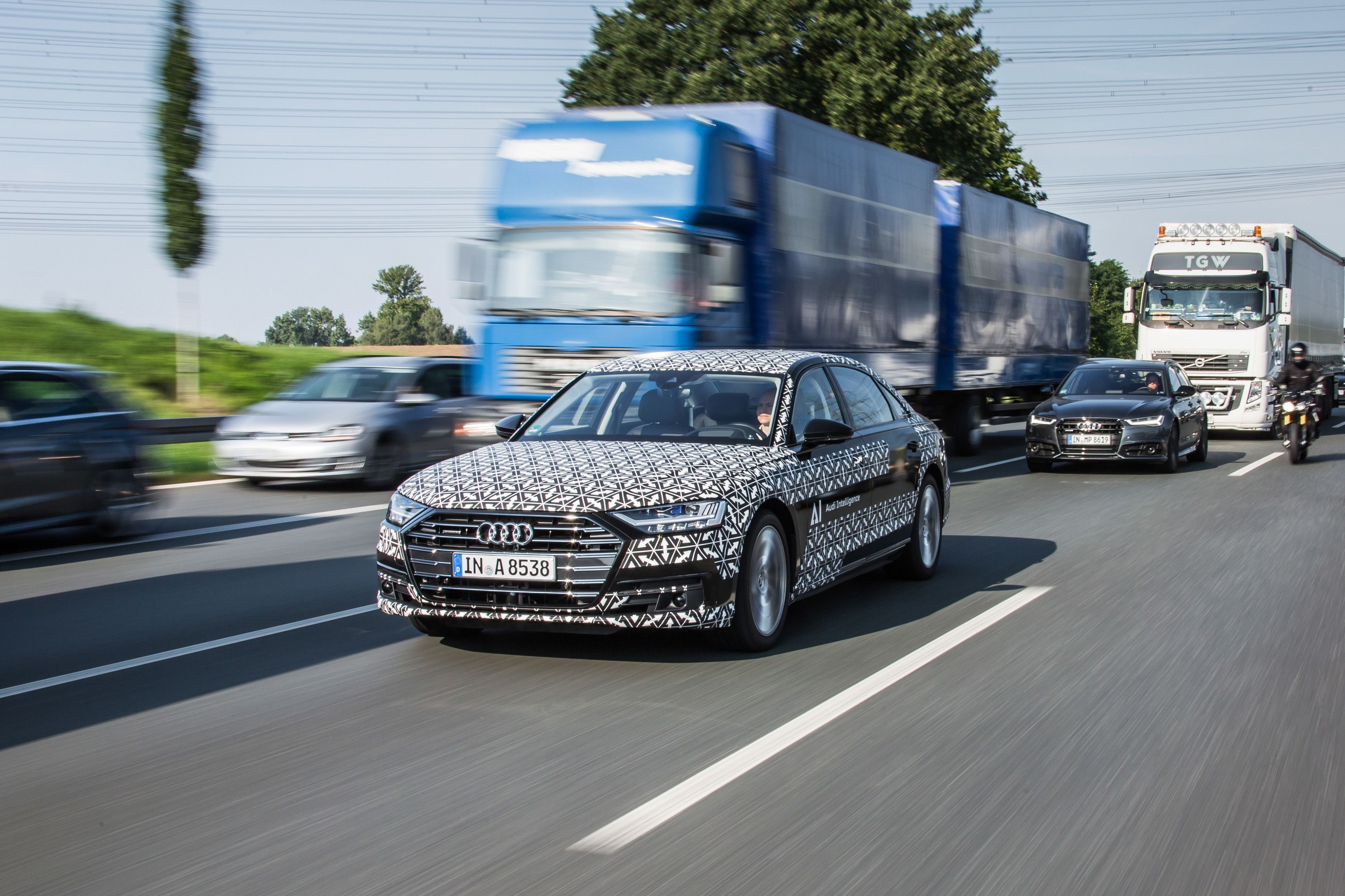 Audi ai drives you out of jams http vrzone com