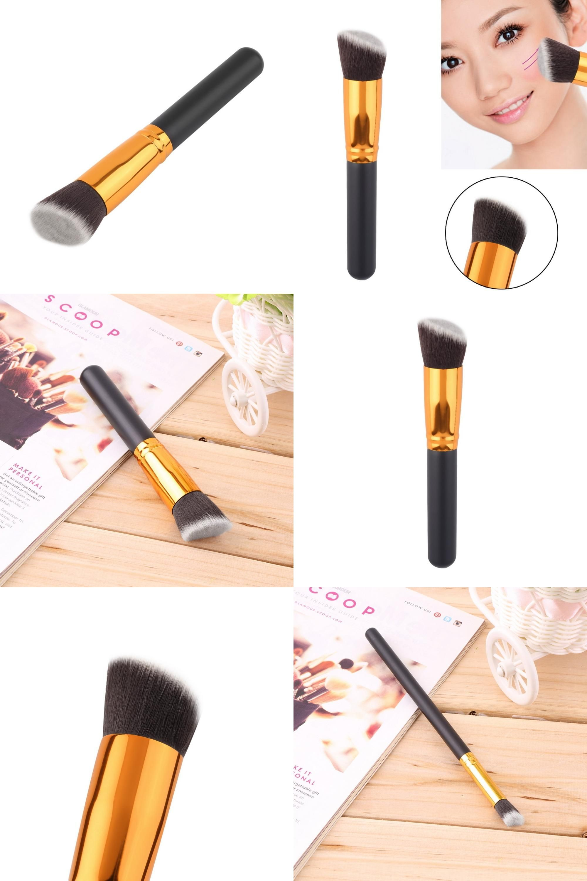 [Visit to Buy] New Cosmetic Make up Powder Foundation