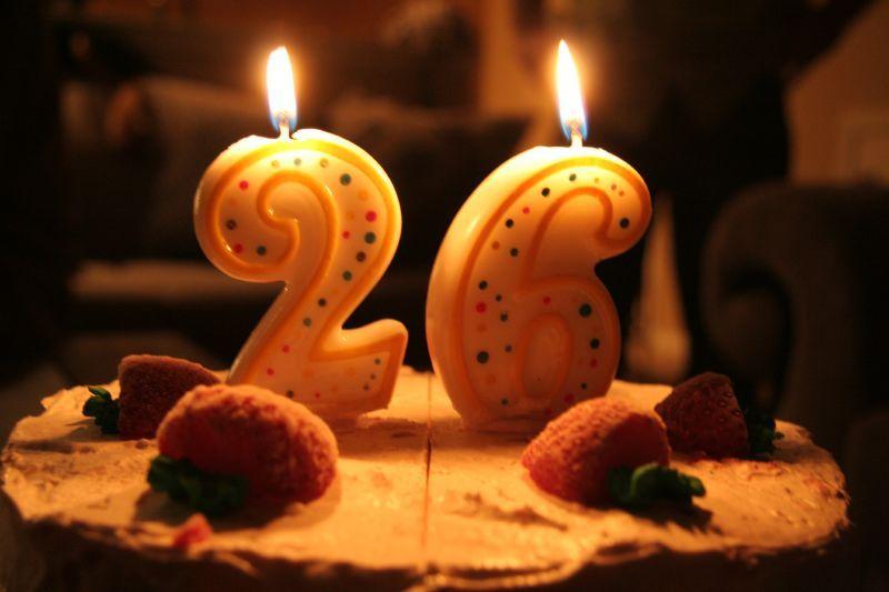 Happy 26th Birthday Cake