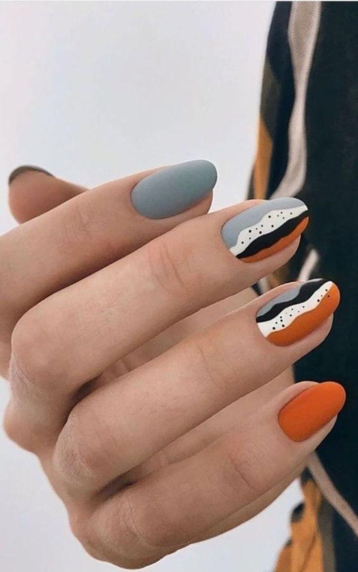 45 Lovely Manicure Designs Ideas For Nail Art-  -#koreannailart #nailartblack #n…