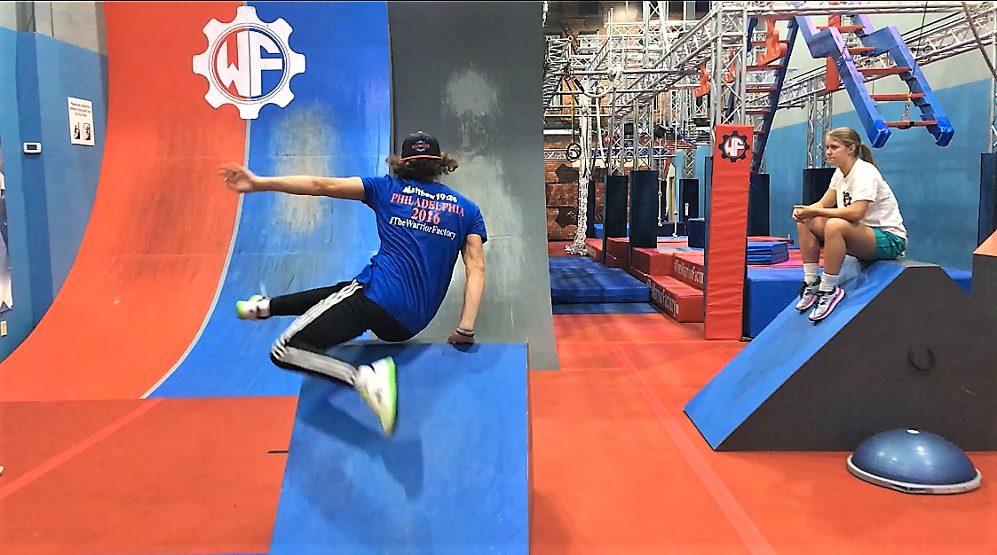 Parkour Gym | The Warrior Factory | Fitness | Obstacle Course | American Ninja Warrior | Calisthenics
