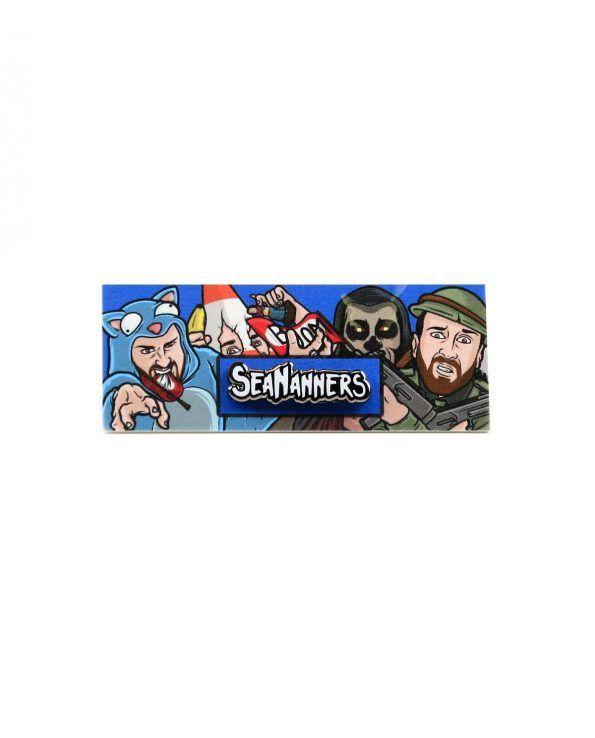 SeaNanners Logo Hard Enamel Pin | SeaNanners Merch | Enamel