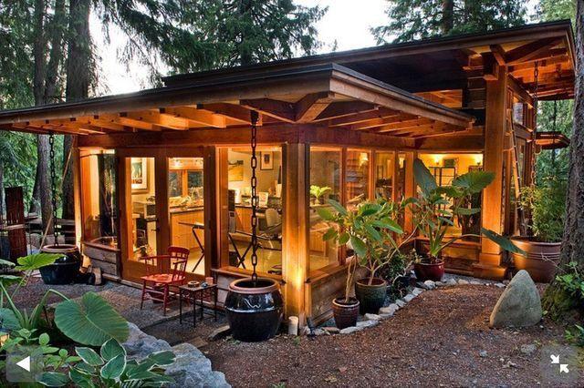 Tiny House Living · Modern CabinsSmall ...