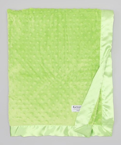 Another great find on #zulily! Katelyn & Co. Green Minky Stroller Blanket by Katelyn & Co. #zulilyfinds