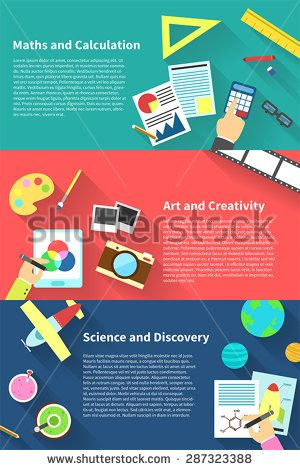 Children education infographic activities and stationary ...