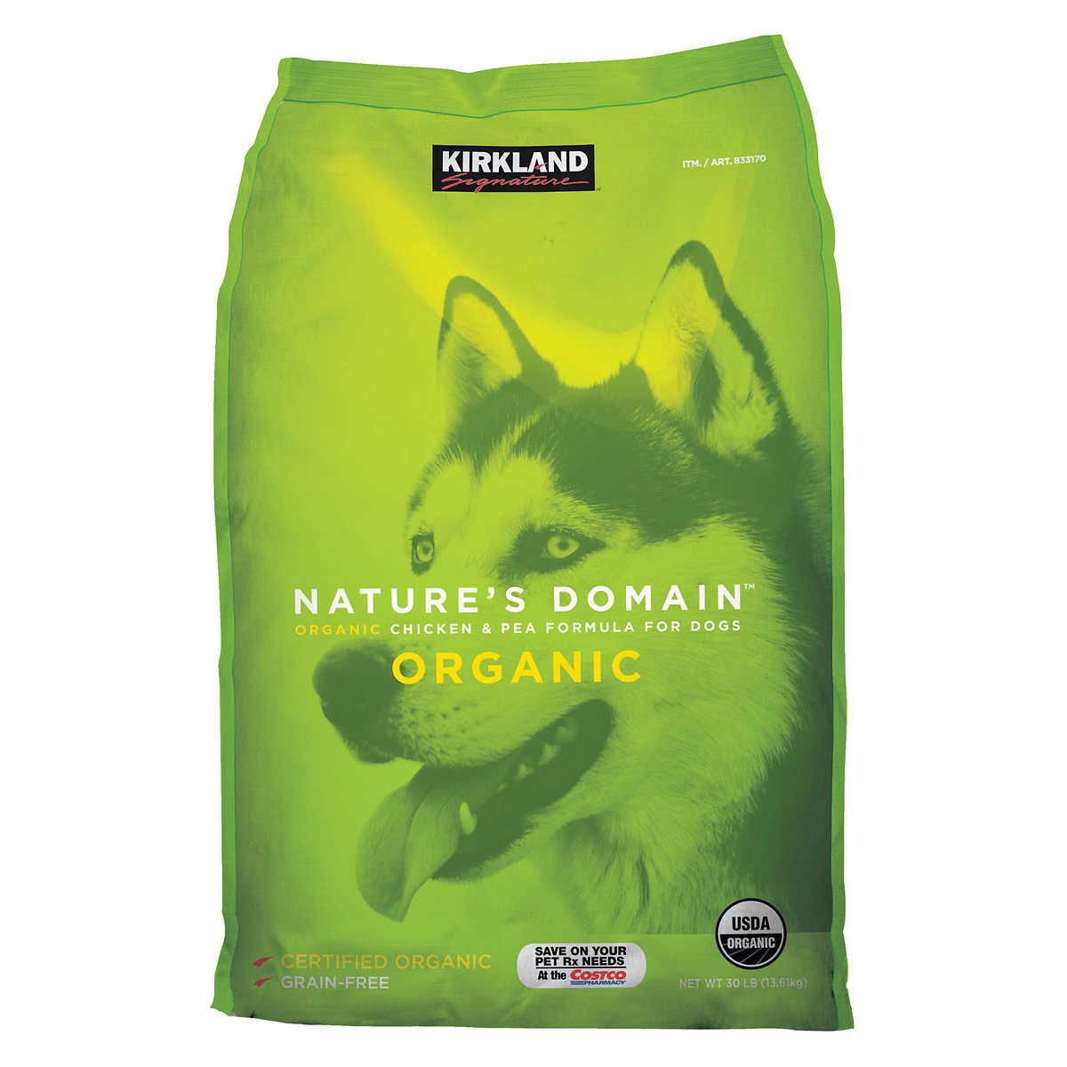 Kirkland signature natures domain organic chicken pea