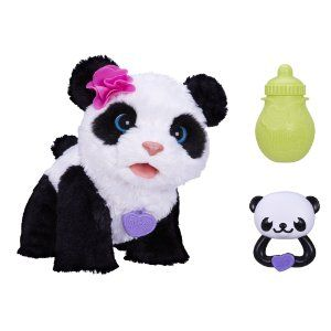 Furreal Friends Pom Pom My Baby Panda Pet With Images Fur Real Friends