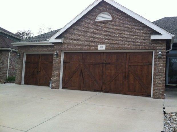 2 1 Car Garageskins System Installed Garage Doors Wood Garage Doors Carriage Style Garage Doors