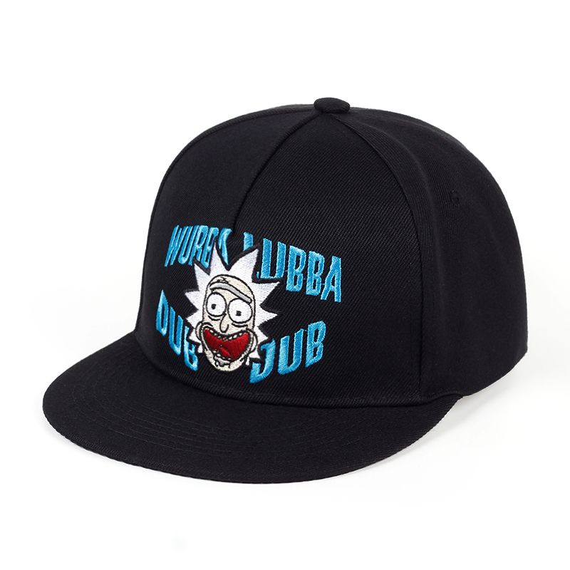 Wubba lubba dub dub Snapback Rick and Morty Classic Sayings Baseball Caps  Rick Molding Exquisite Embroidery Hip Hop Hat Hot sell e0d68816373b