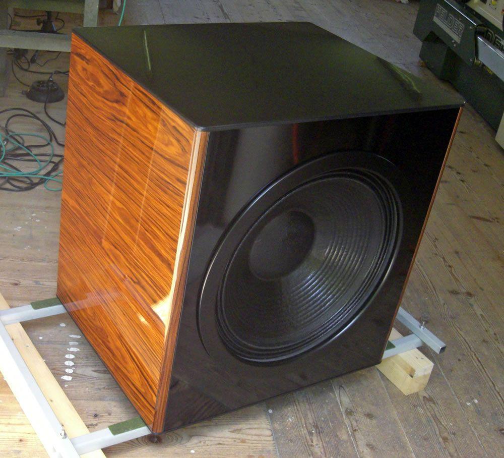 elodis subwoofer lautsprecher systeme f r h chste anspr che analog hifi pinterest. Black Bedroom Furniture Sets. Home Design Ideas