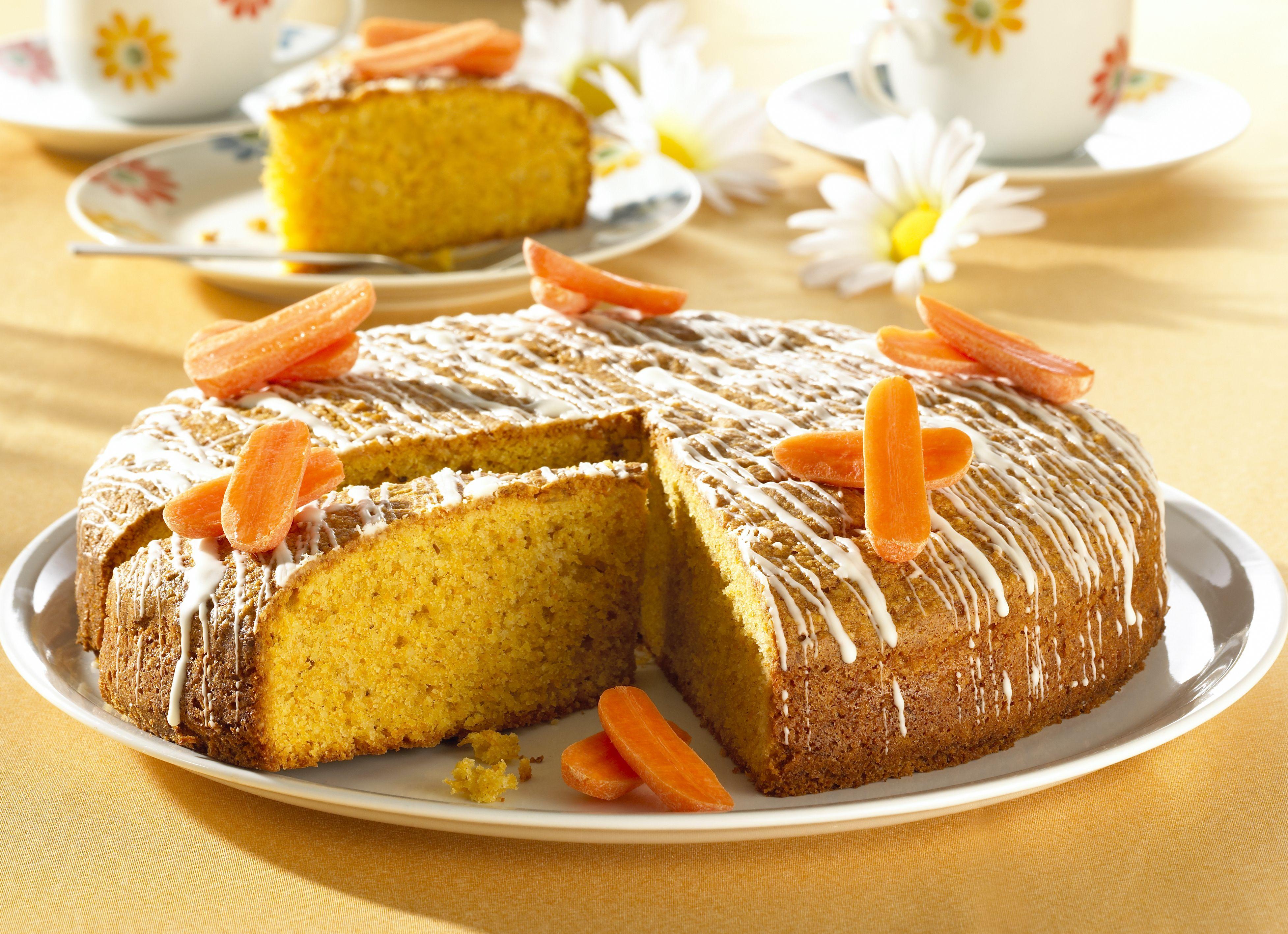 Karottenkuchen gesund