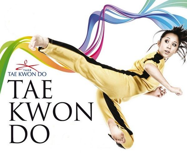 Girl Kicks Tae Kwon Do Clip Art | Oriental Flair | Pinterest ...