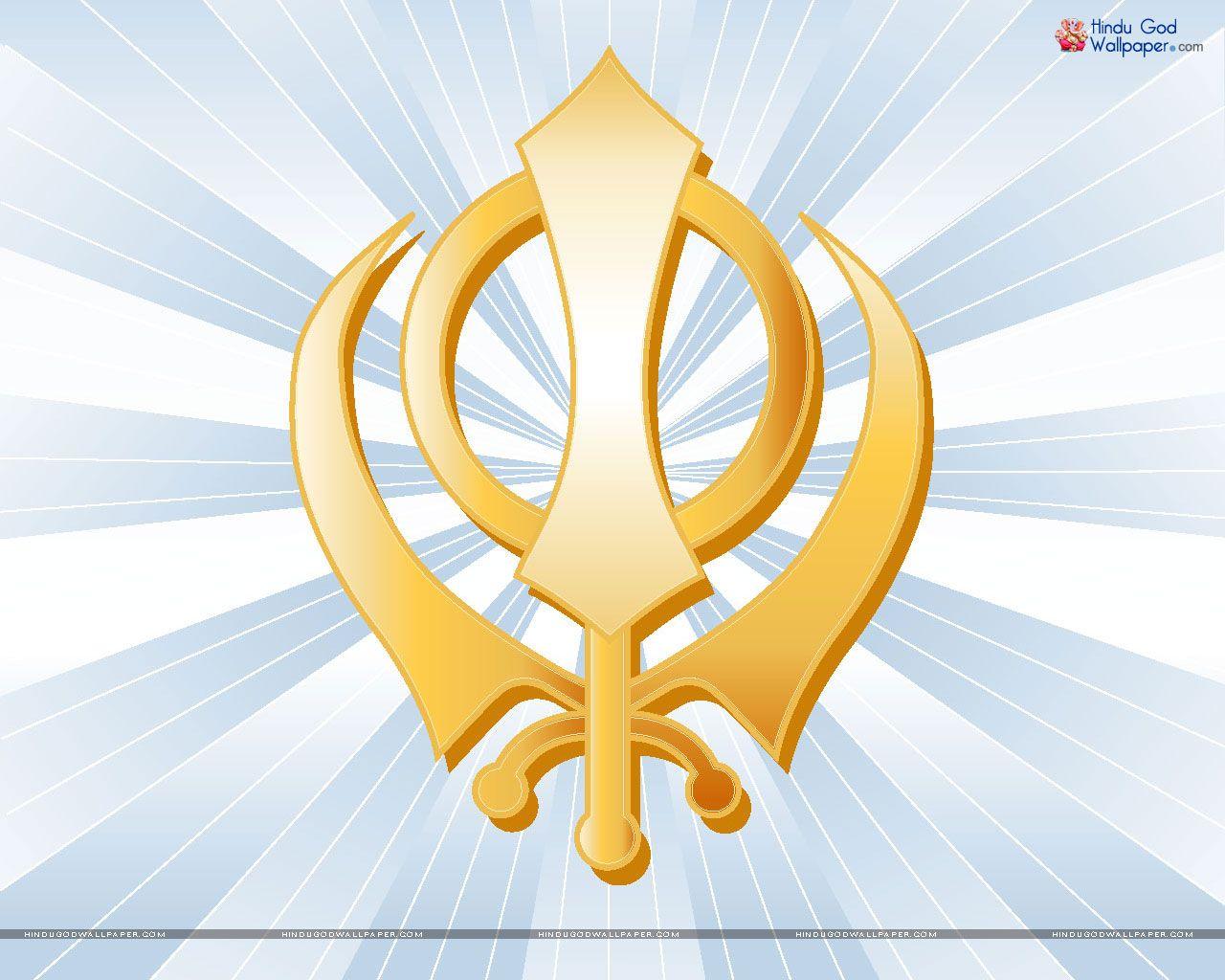 Sikh Symbol Wallpaper Sikh Logo Wallpaper Download Guru Nanak