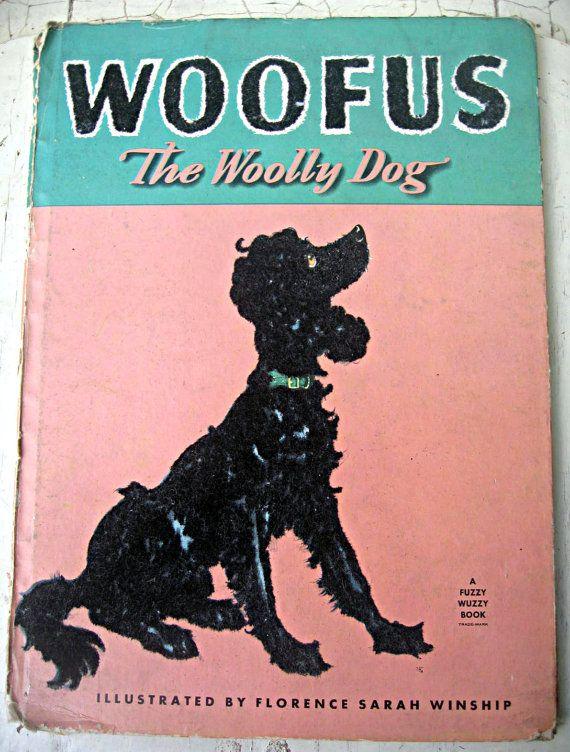 Vintage Children S Book Woofus The Woolly By Littlebeachdesigns