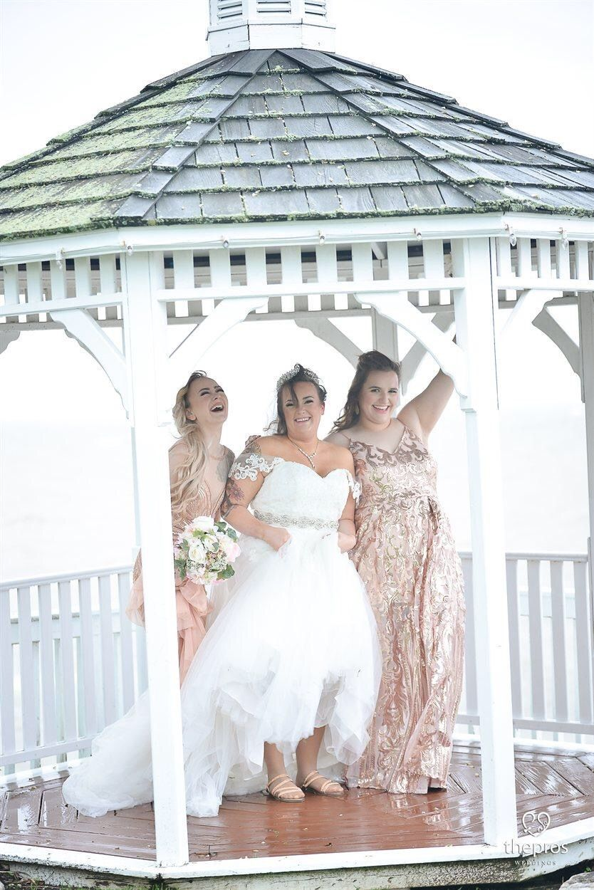 Wedding travel bride groom weddingdress navyblue blushpink