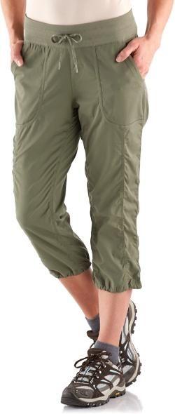 9228b7e5d03 The North Face Women s Aphrodite 2.0 Capri Pants Deep Lichen Green XL
