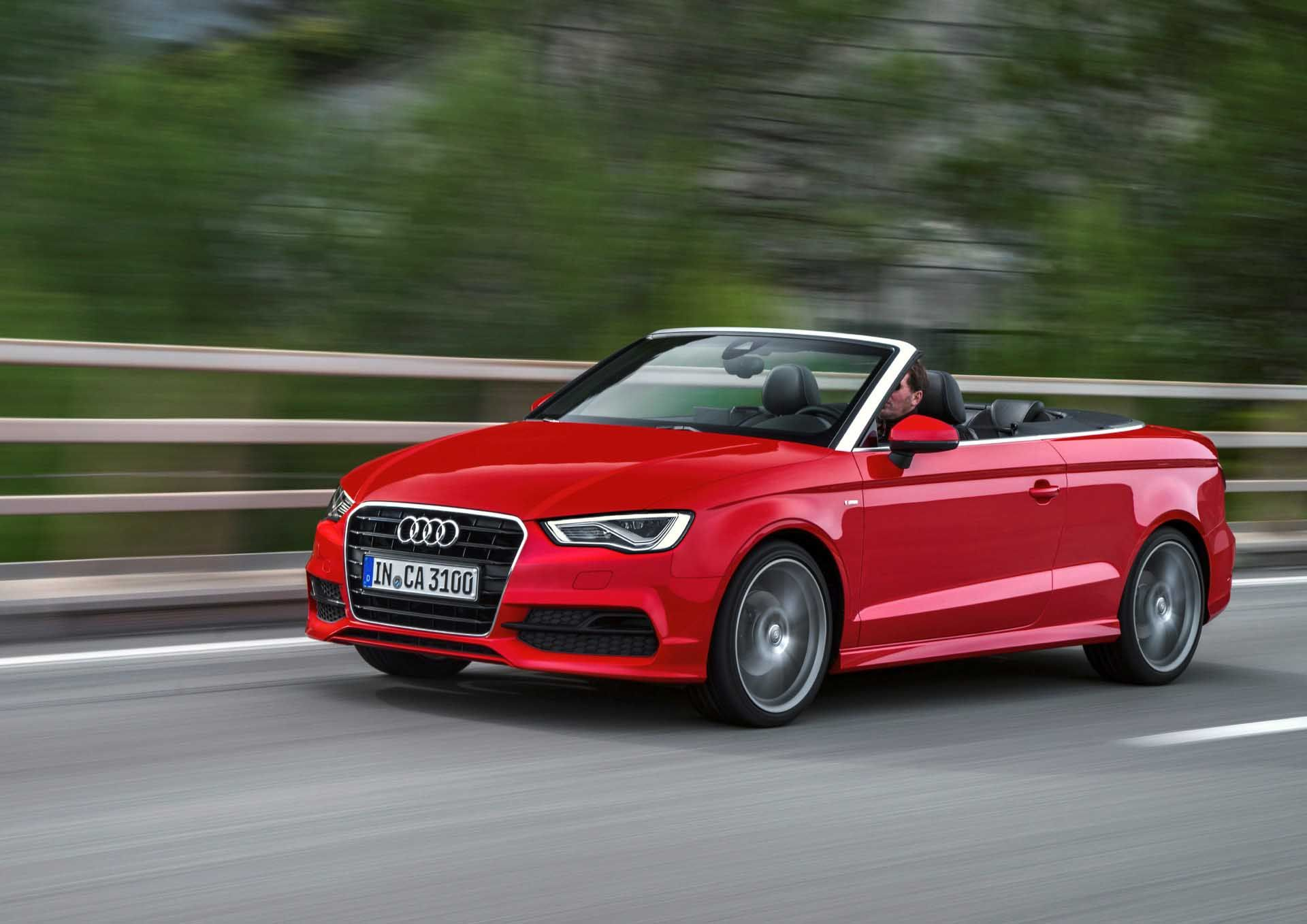 10 Beautiful Audi A3 Cabriolet Elegance Desktop Wallpaper With
