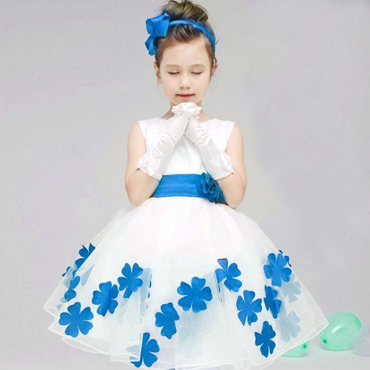 Kindstraum Girls Princess Formal Party Dresses Children Sleeveless ...