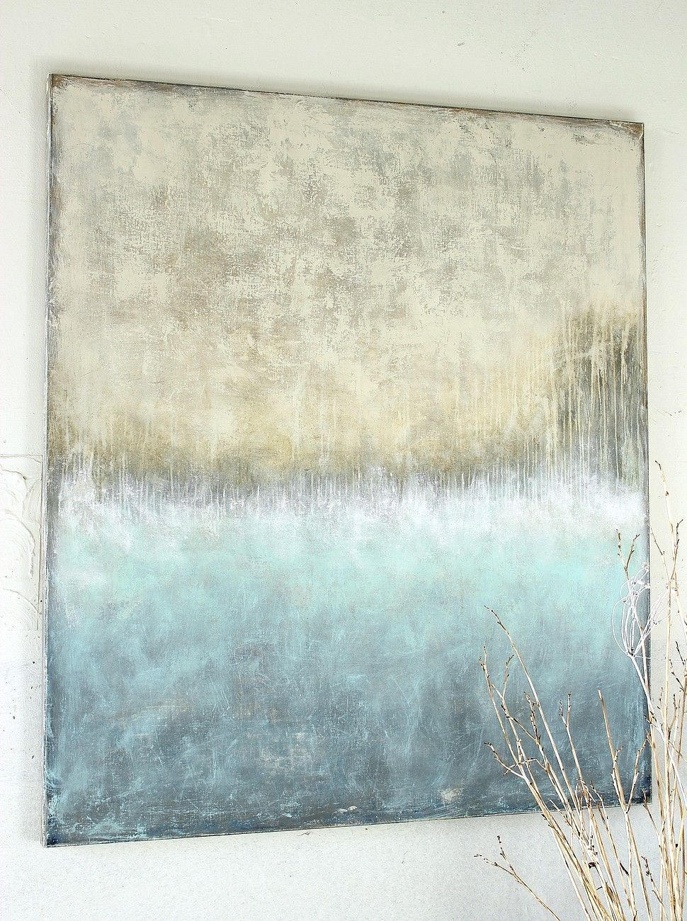 2014 150 x 130 x 4 cm mischtechnik auf leinwand abstrakte kunst malerei leinwand painting abstract contemporary abstractart