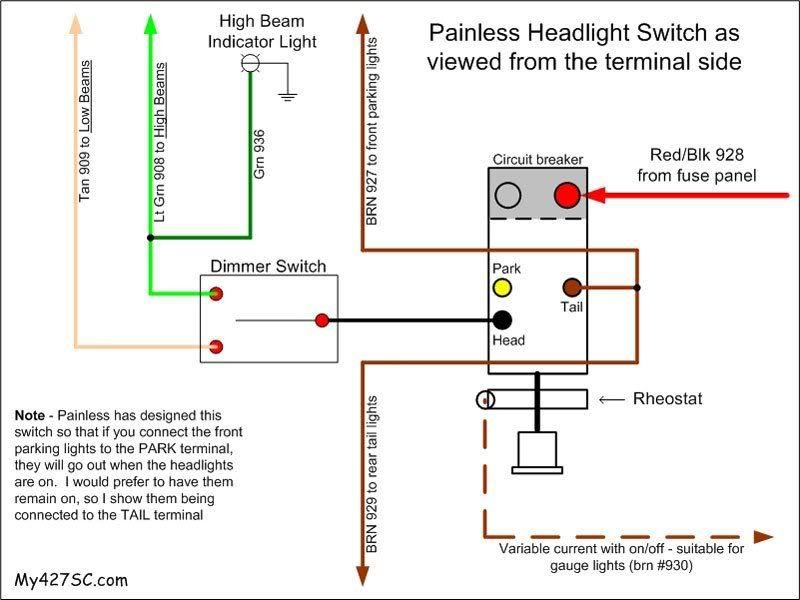 Painless Wiring Diagram Brake Circuit