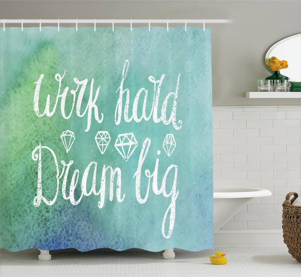 Inspirational Shower Curtain Fabric Bathroom Set With Hooks 4 Sizes Available Ad Curtain Fabric Inspi With Images Fabric Shower Curtains Bathroom Sets Bird Shower Curtain