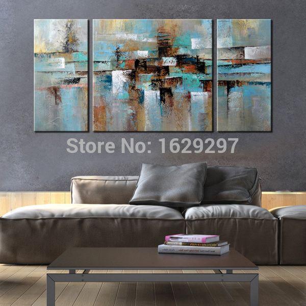 3 Piece Canvas Wall Art Sets 3 pieces canvas art set textured canvas decorative abstract oil