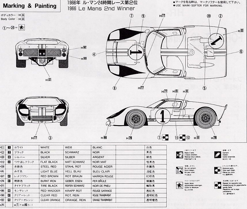 Ford Gt40 Chassis Dimensions 4 Ford Gt40 Gt40 Ford Gt
