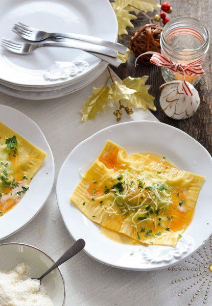 Raviolo al Uovo with Brown Butter // Karista's Kitchen
