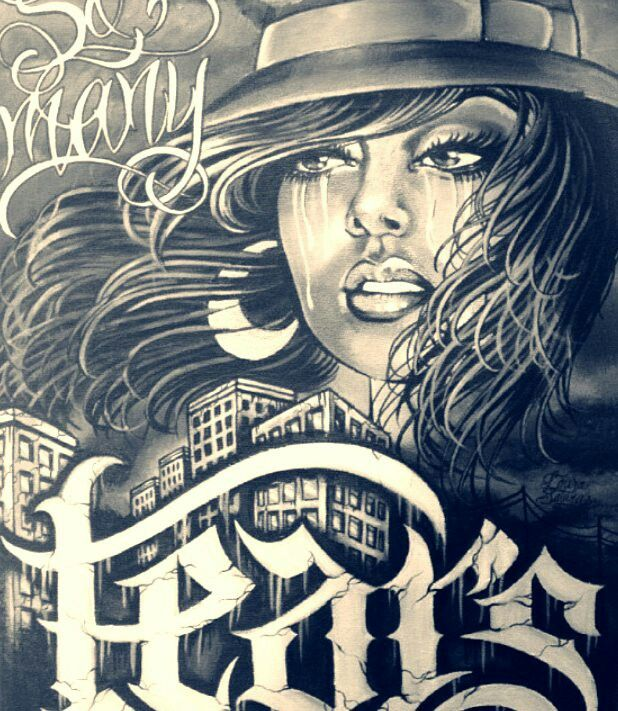 Pin by charles king on tattooflash chicano art latino - Brown pride drawings ...