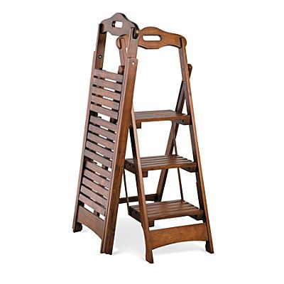 3 Step Folding Stool Only 2 Inches Thick When Folded