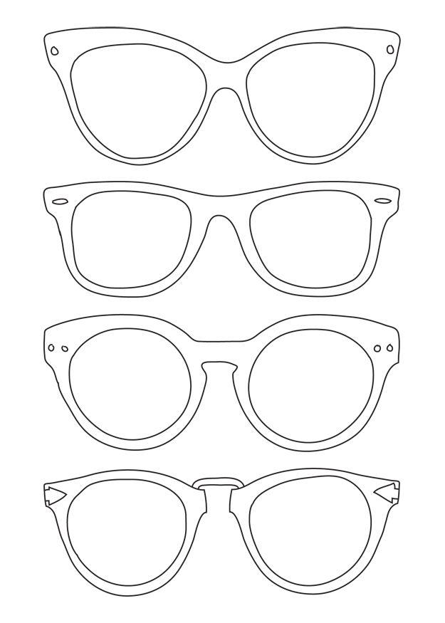 Color Me Caitie Weekly Doodle 25 Oculos Desenho Porta Oculos