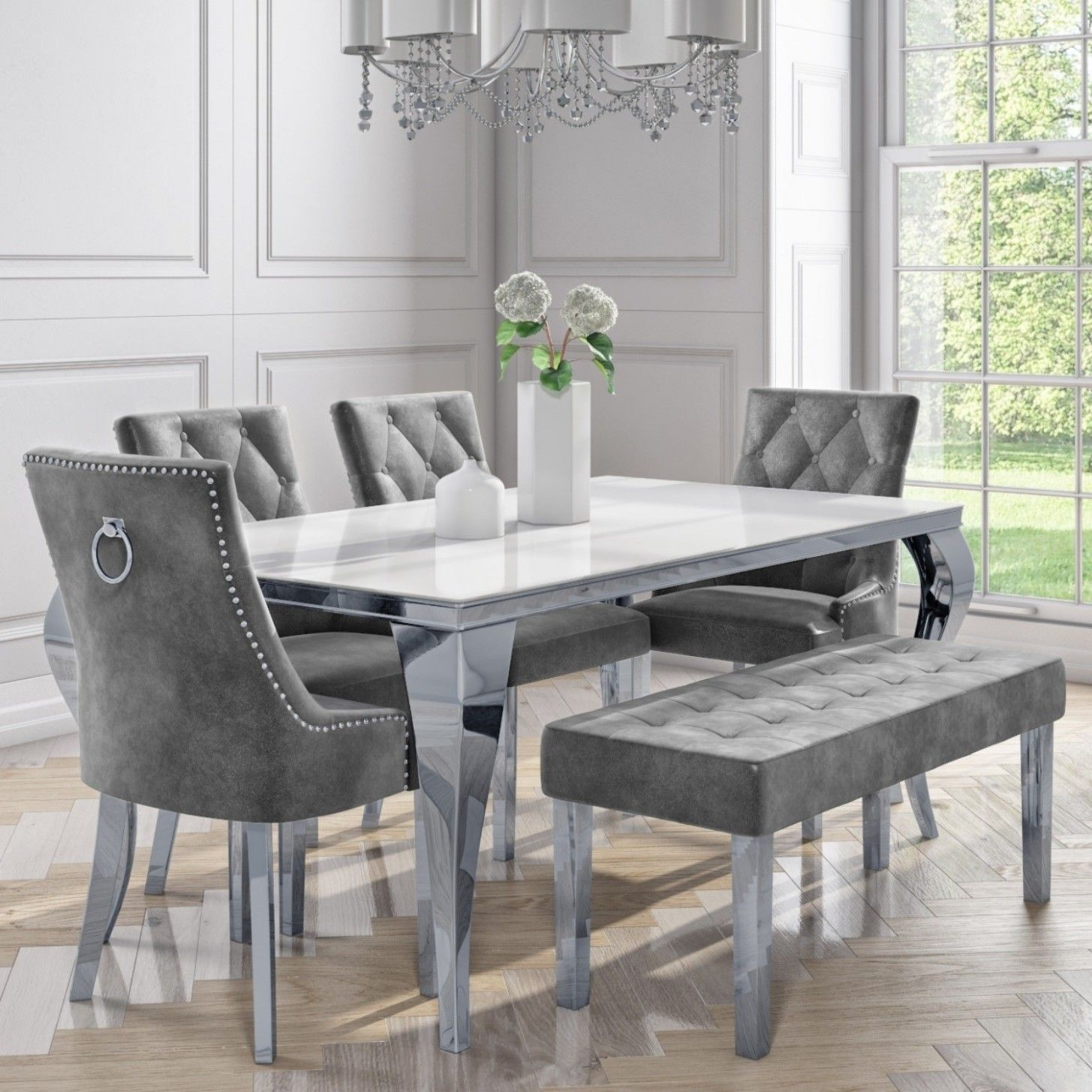 31+ Luxury white dining sets Top