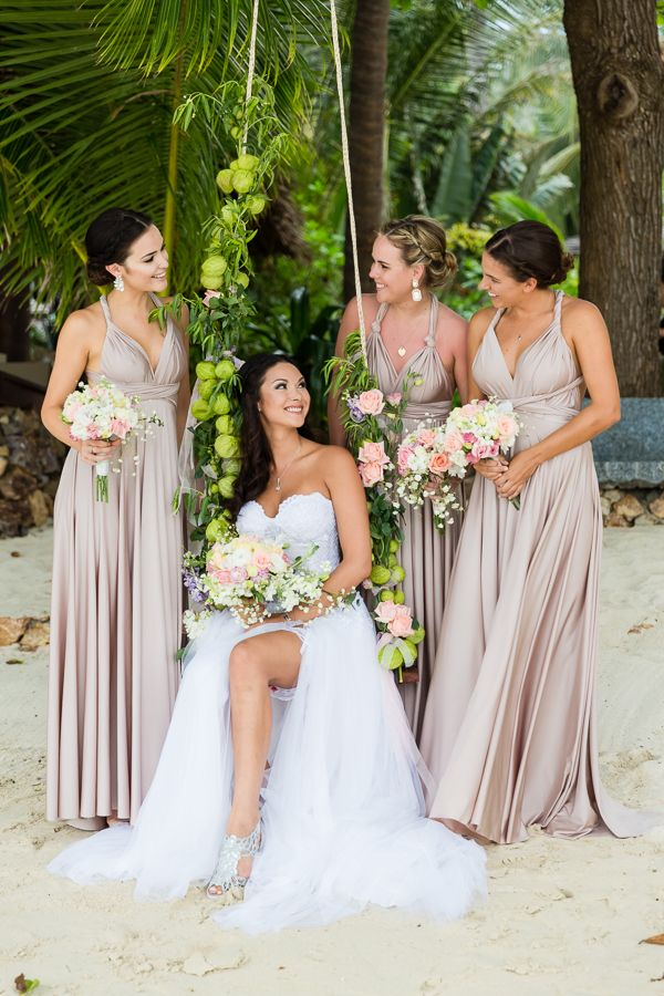 Multiway Bridesmaid Dresses Shop Them Online With International Shipping Www Goddessbynature Infinity Dress Bridesmaid Neutral Bridesmaid Dresses Bridesmaid