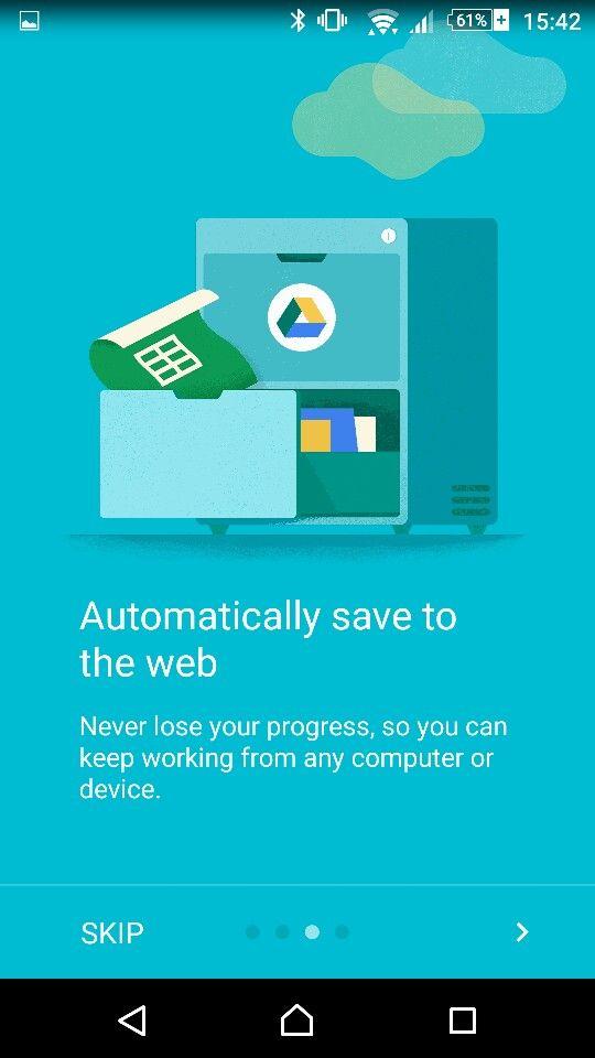 Google Docs Intro Illustration Mobile Ui Pinterest Design