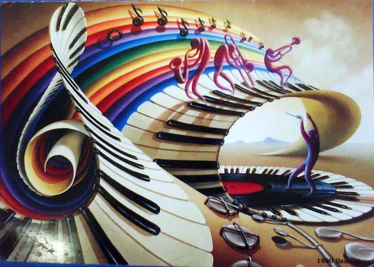 гармония музыки картинки