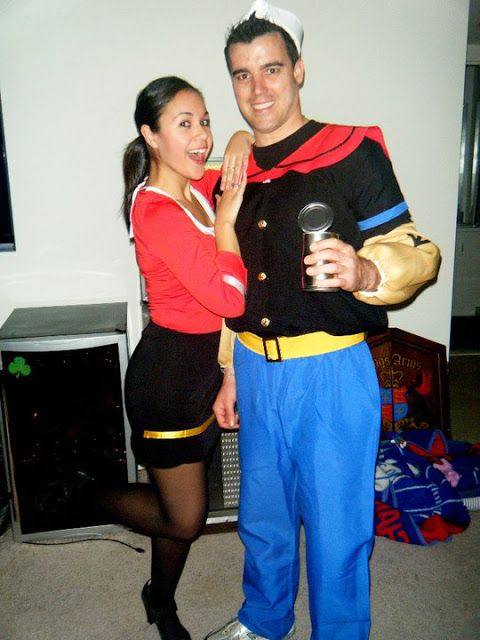 popeye and olive oil halloween costume idea pretty little things blog