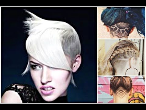 Undercut Hairstyles Shaven Hair Ideas See More Trends At - Undercut hairstyles youtube