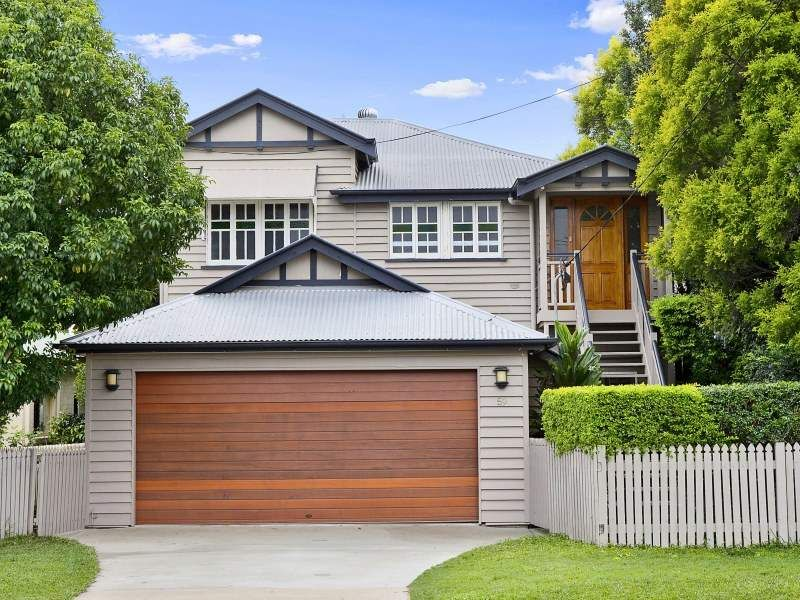 Carport Queenslander house, Garage doors, Facade house