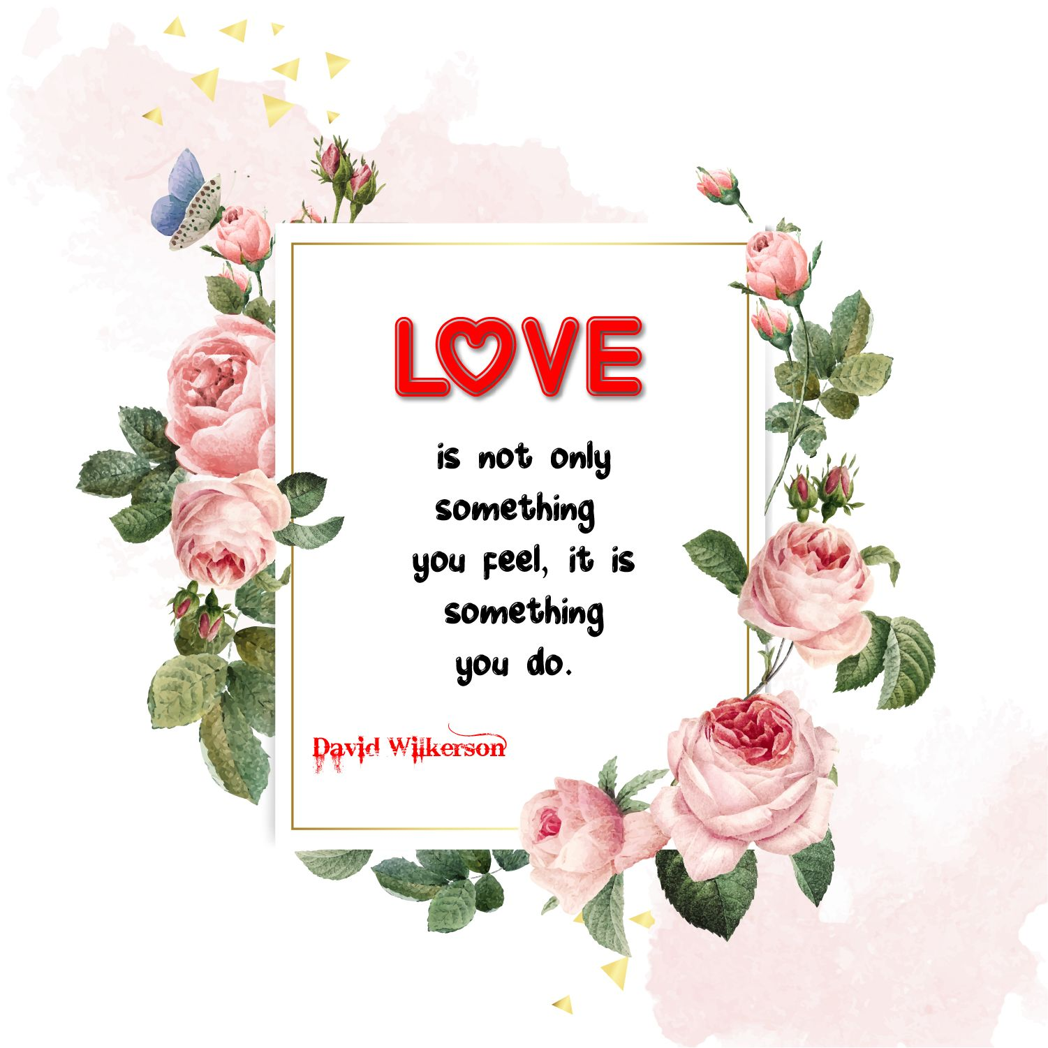 Love Is Not Only Something