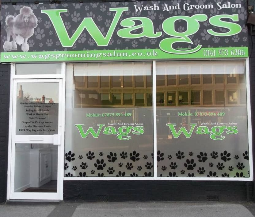 Pinned From Wagsgroomingsalon Co Uk Wags Wash And Groom Salon