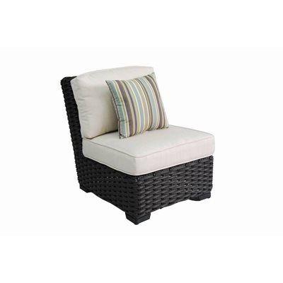 Pleasant Allen Roth Blaney Woven Patio Sectional Chair Patio Inzonedesignstudio Interior Chair Design Inzonedesignstudiocom