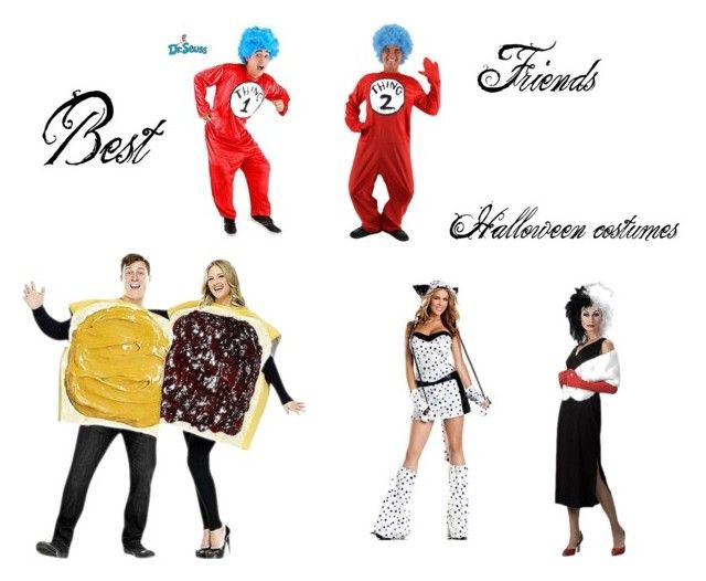 """Best friends Halloween costumes"" by tylarcolbert on Polyvore"